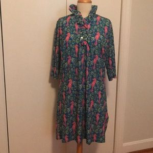 Simply Southern seahorse and shells dress size XL